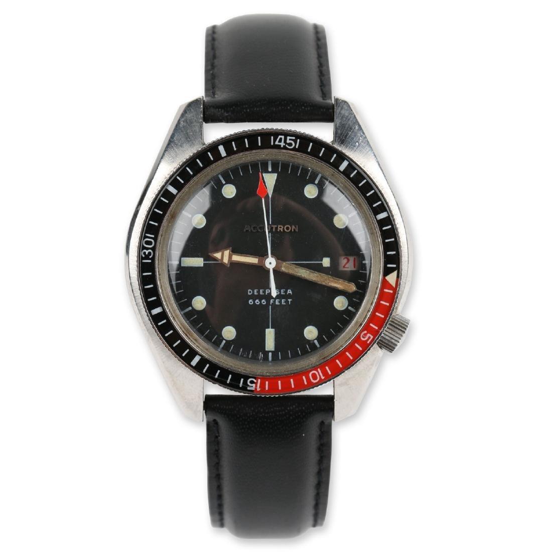 "Bulova Accutron ""Deep Sea"" 666ft Diver's Wristwatch"
