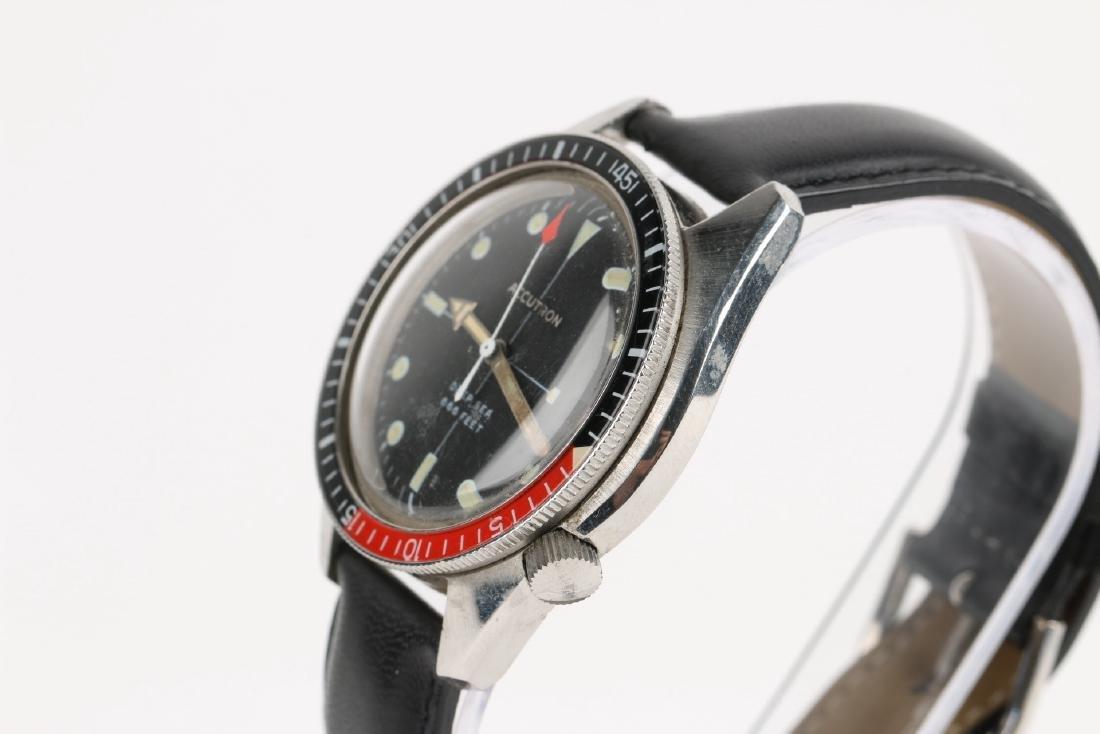 "Bulova Accutron ""Deep Sea"" 666ft Diver's Wristwatch - 2"