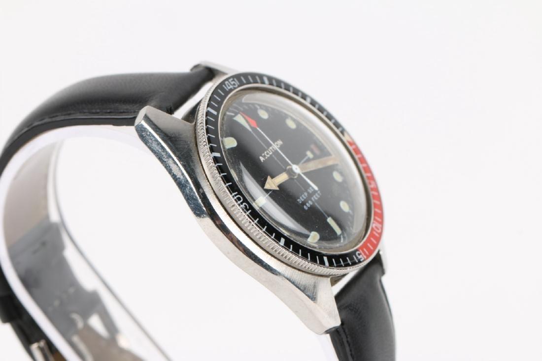 "Bulova Accutron ""Deep Sea"" 666ft Diver's Wristwatch - 3"