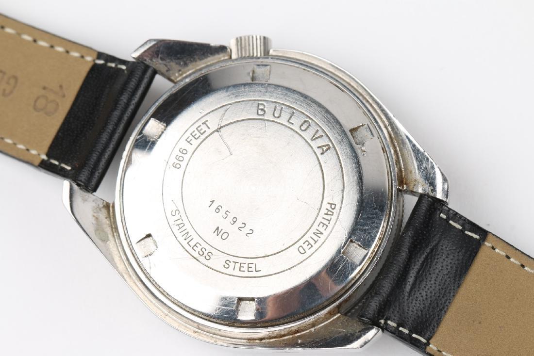 "Bulova Accutron ""Deep Sea"" 666ft Diver's Wristwatch - 5"