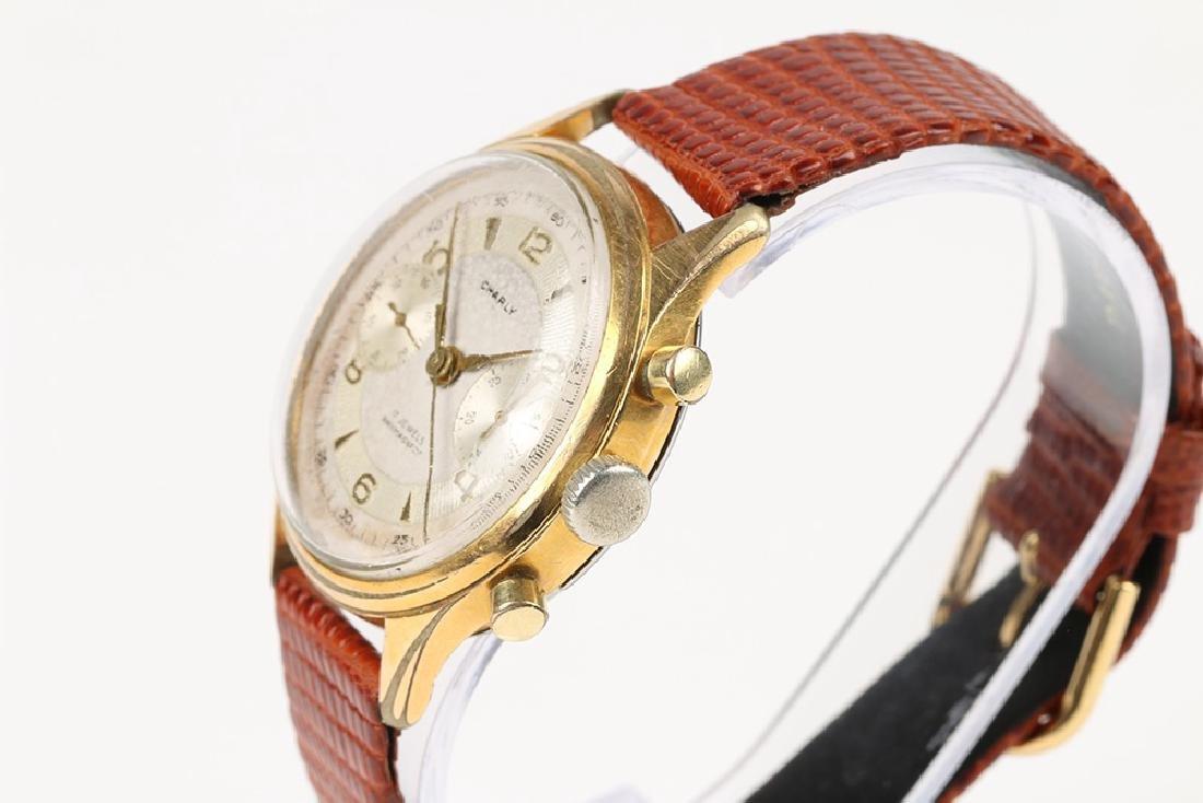"Swiss 2-Button ""Charly"" Chronograph Wristwatch - 2"