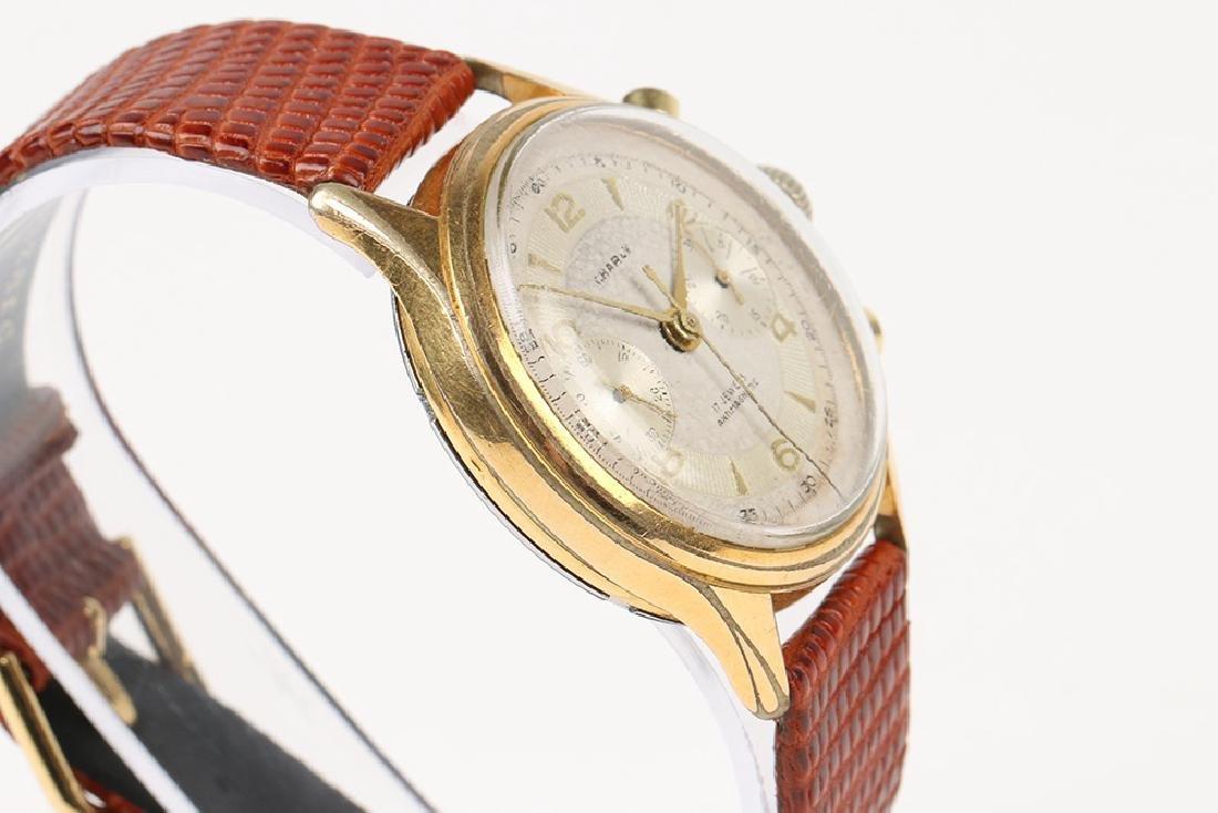 "Swiss 2-Button ""Charly"" Chronograph Wristwatch - 3"