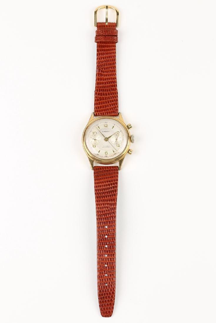 "Swiss 2-Button ""Charly"" Chronograph Wristwatch - 4"