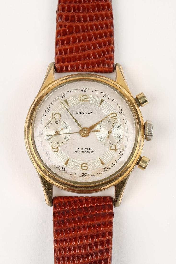 "Swiss 2-Button ""Charly"" Chronograph Wristwatch - 5"