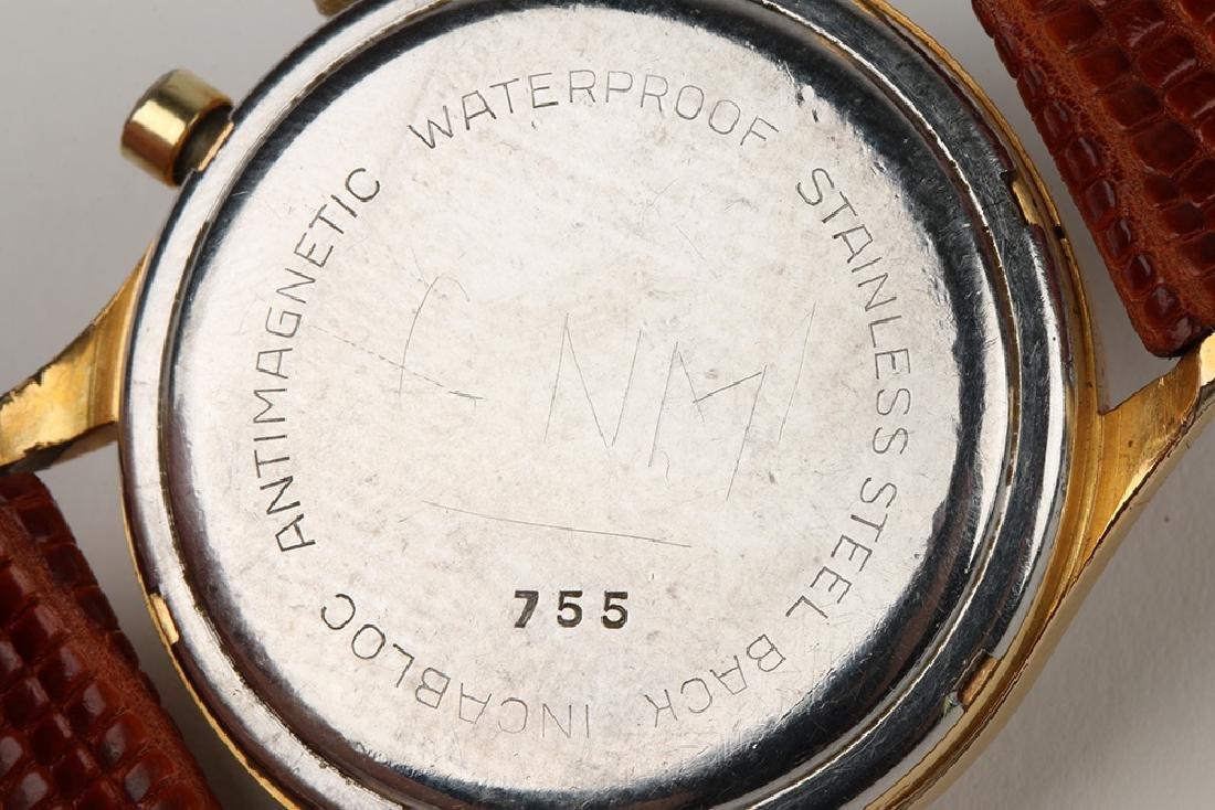 "Swiss 2-Button ""Charly"" Chronograph Wristwatch - 7"