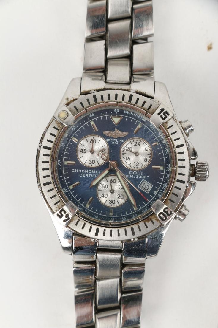 Nine (9) Contemporary Wristwatches Incl. Rolex Replicas - 3