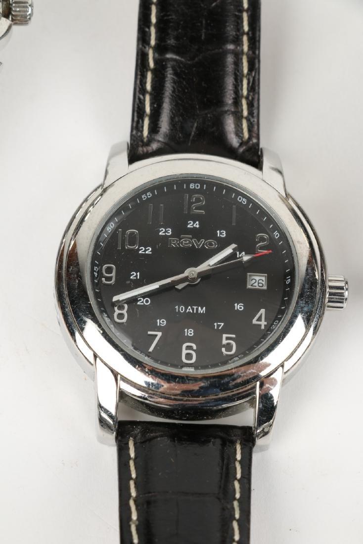 Nine (9) Contemporary Wristwatches Incl. Rolex Replicas - 4