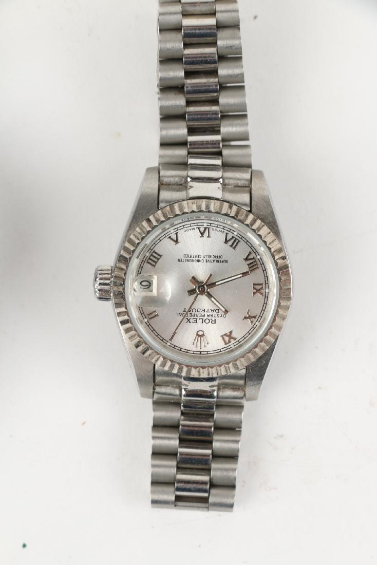 Nine (9) Contemporary Wristwatches Incl. Rolex Replicas - 7
