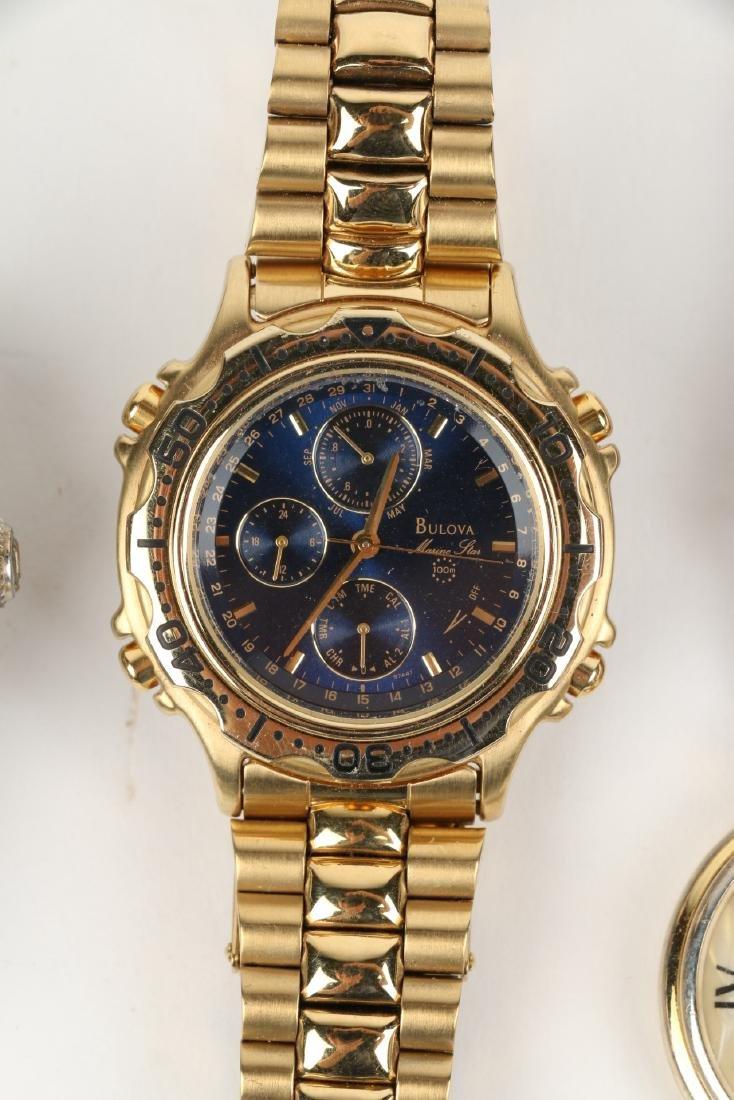 Nine (9) Contemporary Wristwatches Incl. Rolex Replicas - 8