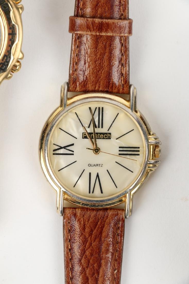 Nine (9) Contemporary Wristwatches Incl. Rolex Replicas - 9
