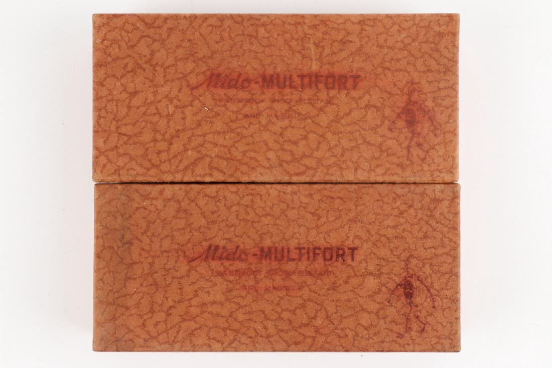 "Two (2) NOS Mido ""Multifort"" Jewellers Display Boxes - 2"