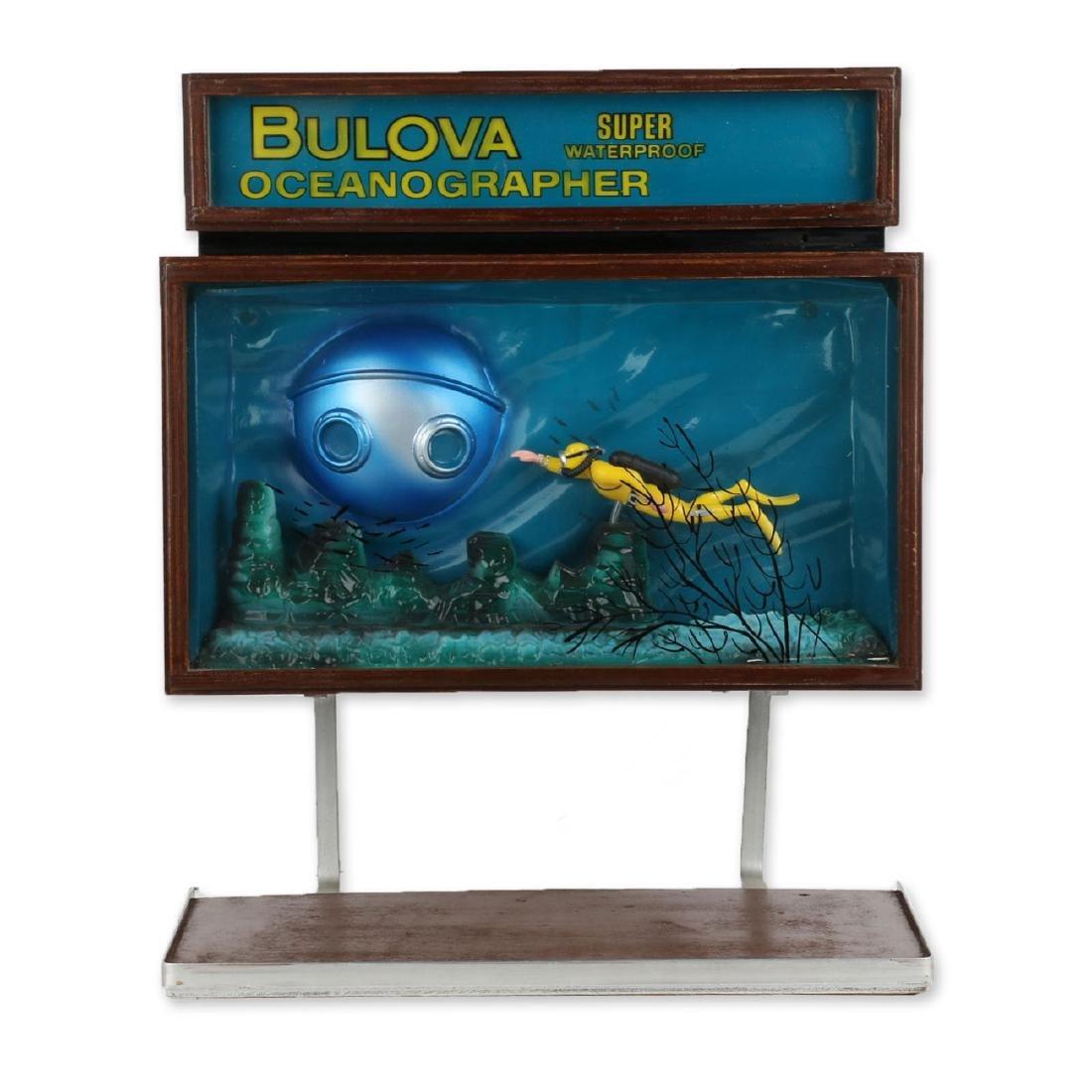 """Rare Bulova """"Oceanographer"""" Jeweller's Motion-Light"""