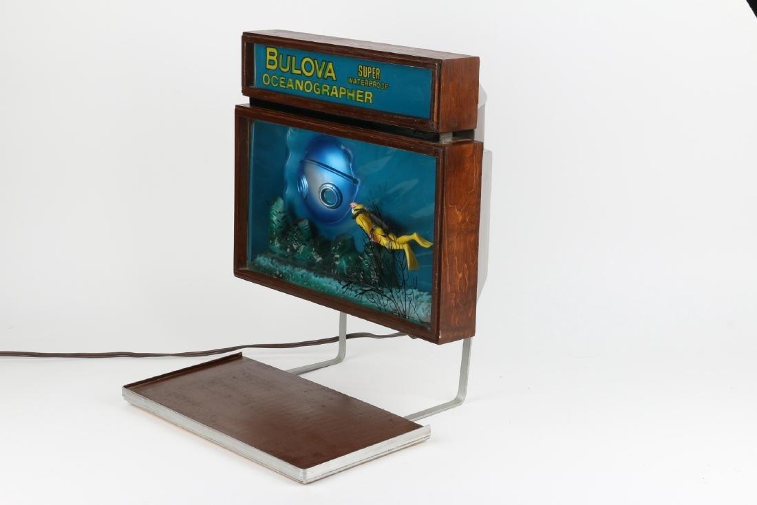 """Rare Bulova """"Oceanographer"""" Jeweller's Motion-Light - 2"""