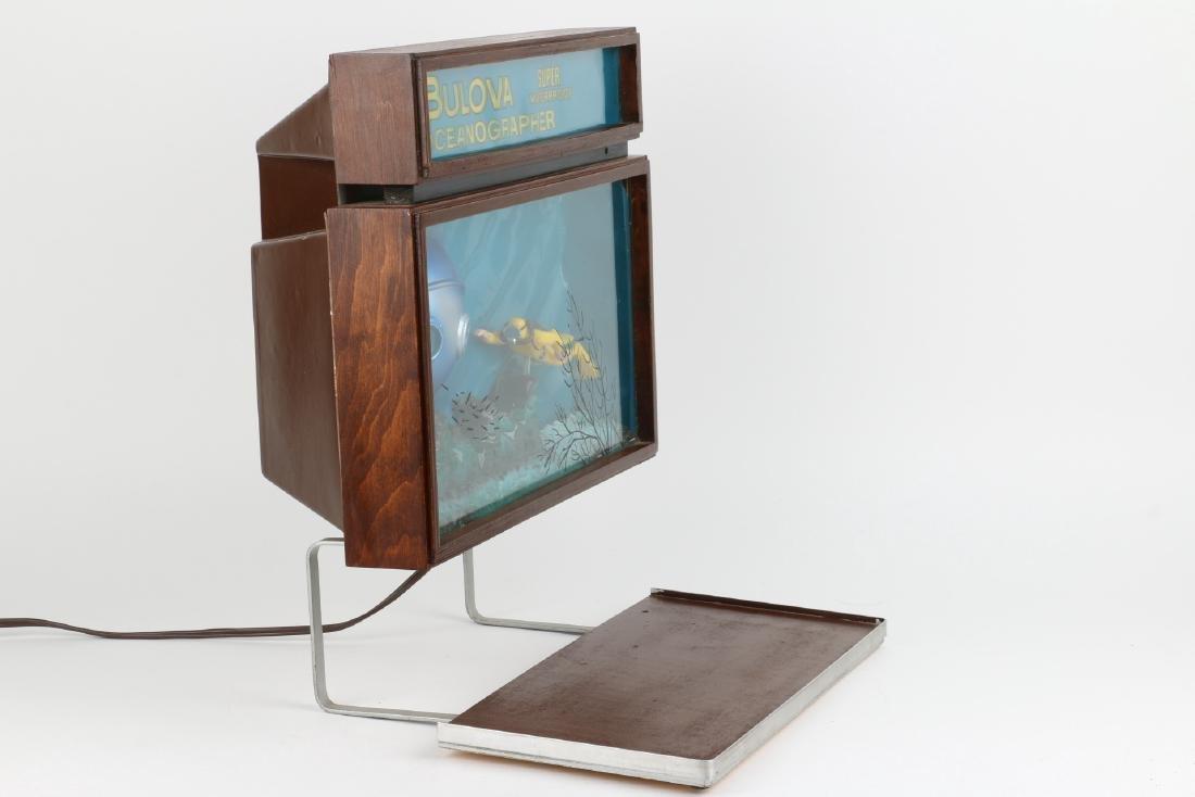 """Rare Bulova """"Oceanographer"""" Jeweller's Motion-Light - 3"""