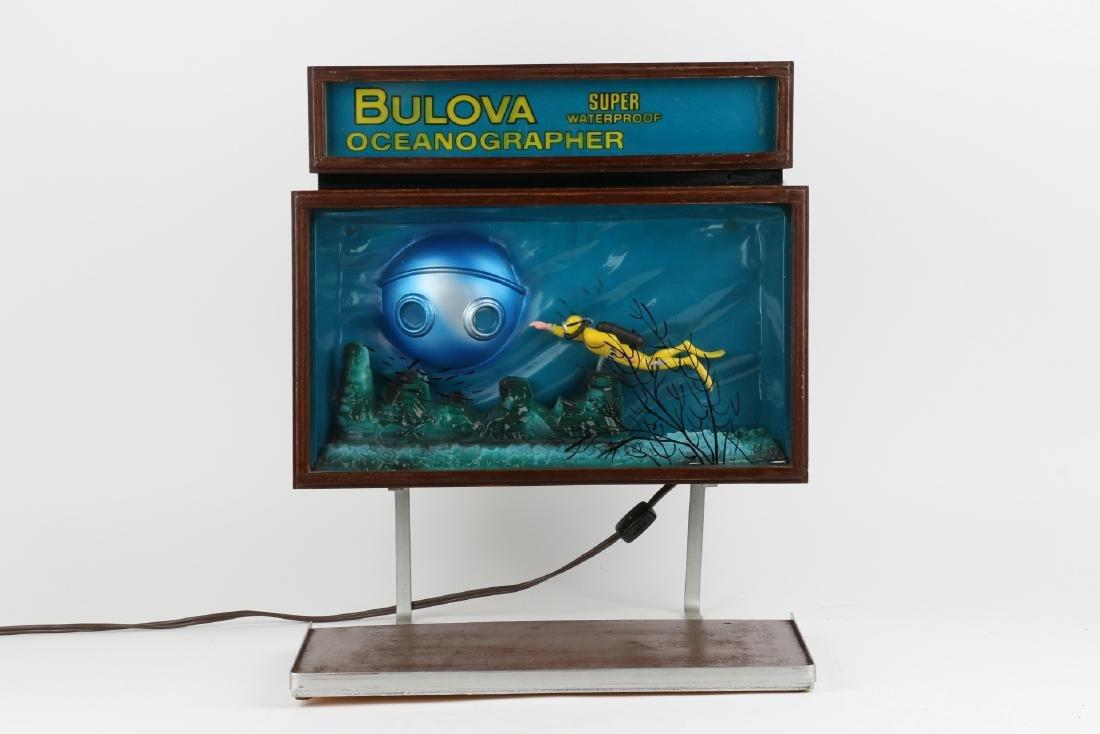 """Rare Bulova """"Oceanographer"""" Jeweller's Motion-Light - 4"""