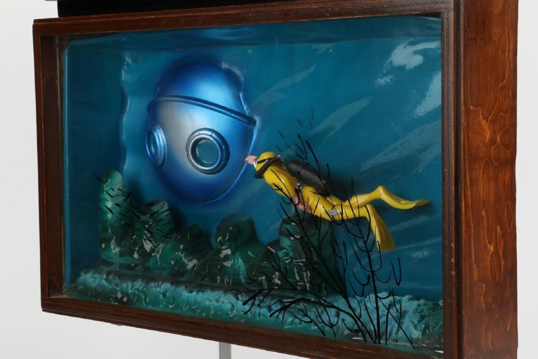 """Rare Bulova """"Oceanographer"""" Jeweller's Motion-Light - 5"""