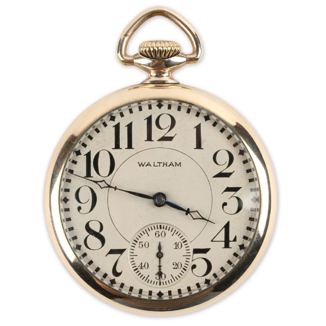16S 17J Waltham Pocket Watch
