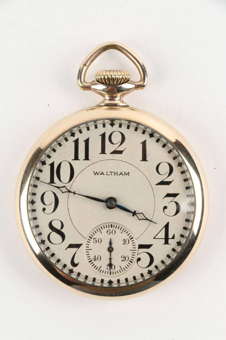 16S 17J Waltham Pocket Watch - 3