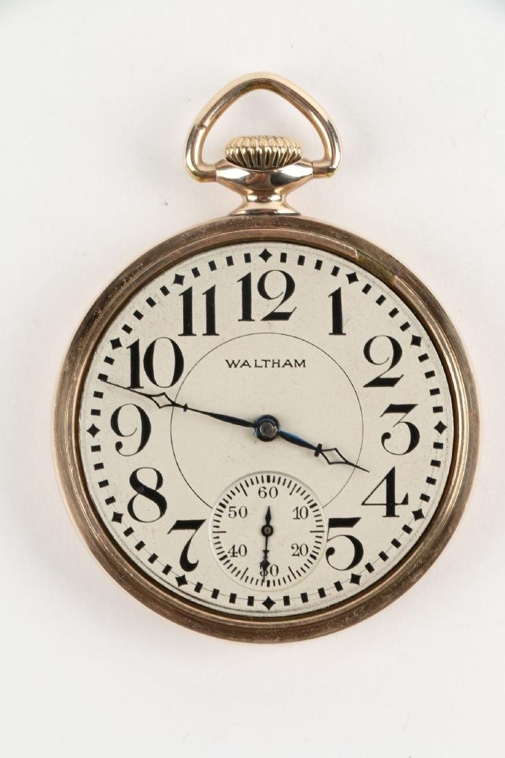 16S 17J Waltham Pocket Watch - 4