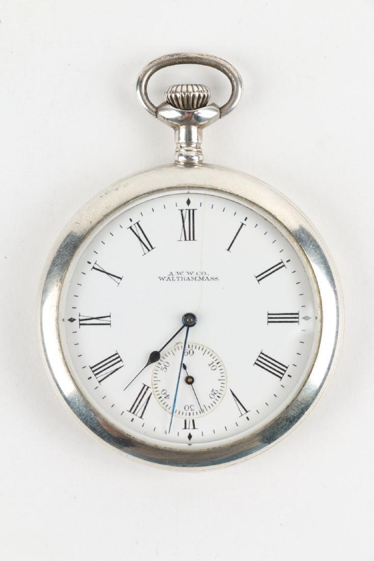 "Sterling 14S Waltham Ensign ""Export"" Pocket Watch - 4"