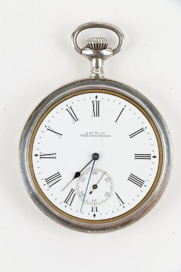 "Sterling 14S Waltham Ensign ""Export"" Pocket Watch - 5"
