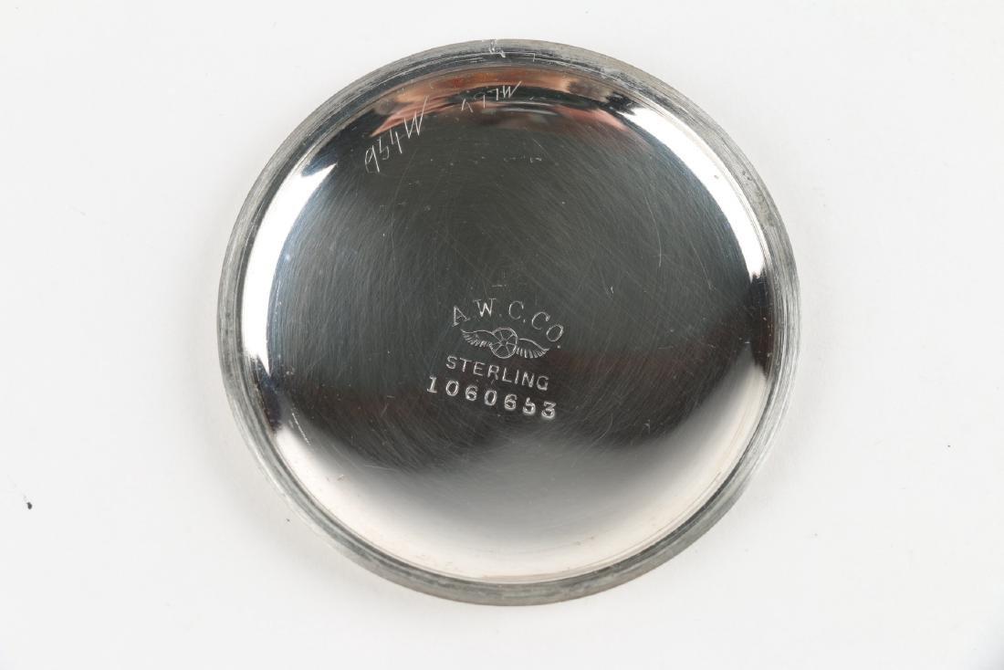 "Sterling 14S Waltham Ensign ""Export"" Pocket Watch - 7"