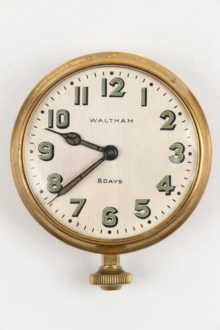 Waltham 8-Day Car Clock - 4