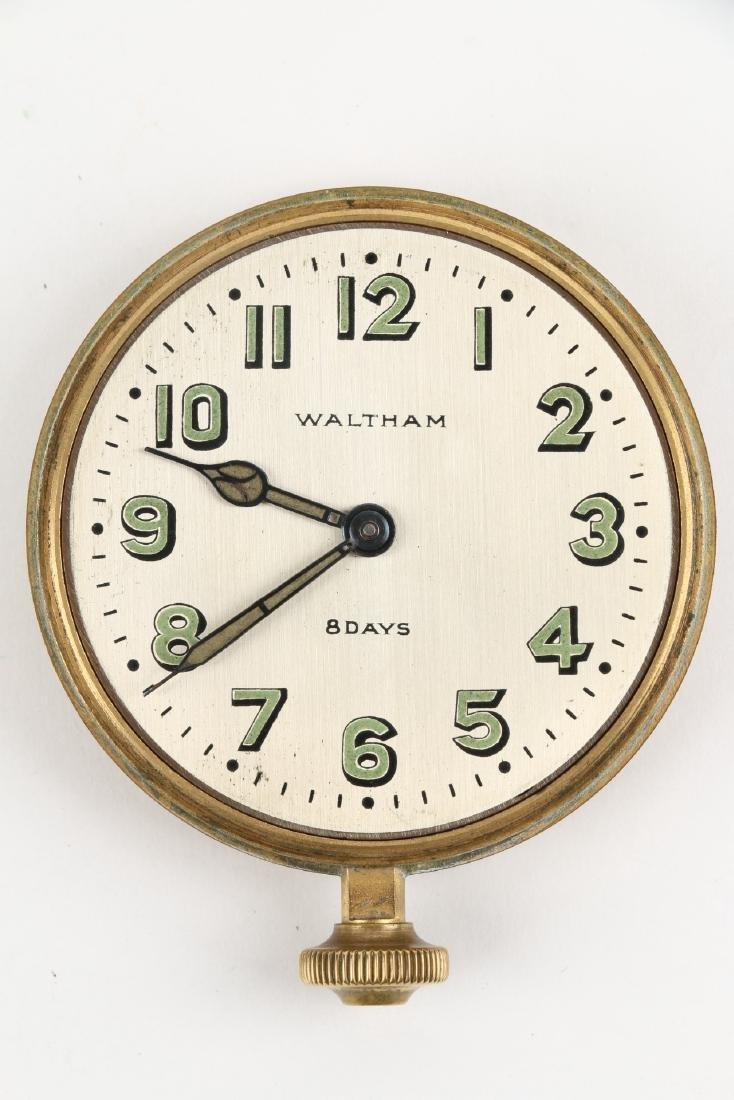 Waltham 8-Day Car Clock - 5