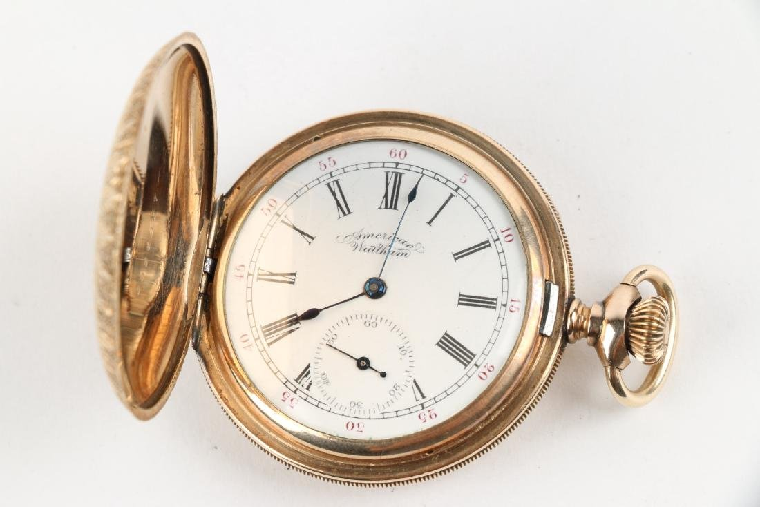 "6S Waltham ""Seaside"" Ladies Full Hunter Pocket Watch - 4"