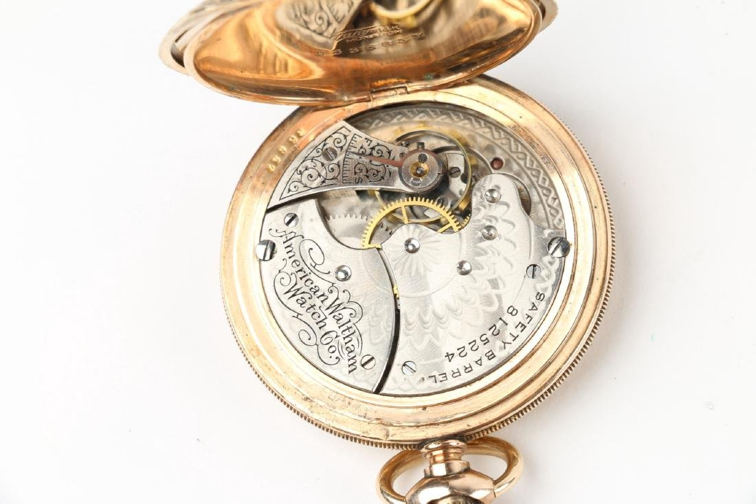 "6S Waltham ""Seaside"" Ladies Full Hunter Pocket Watch - 7"