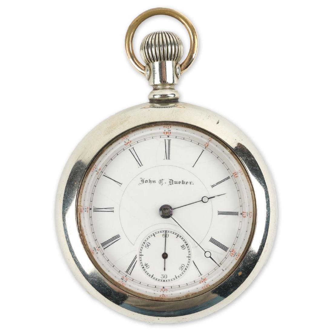 "18S 15J Hampden ""John C. Dueber"" Pocket Watch"