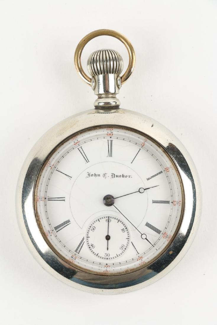 "18S 15J Hampden ""John C. Dueber"" Pocket Watch - 4"
