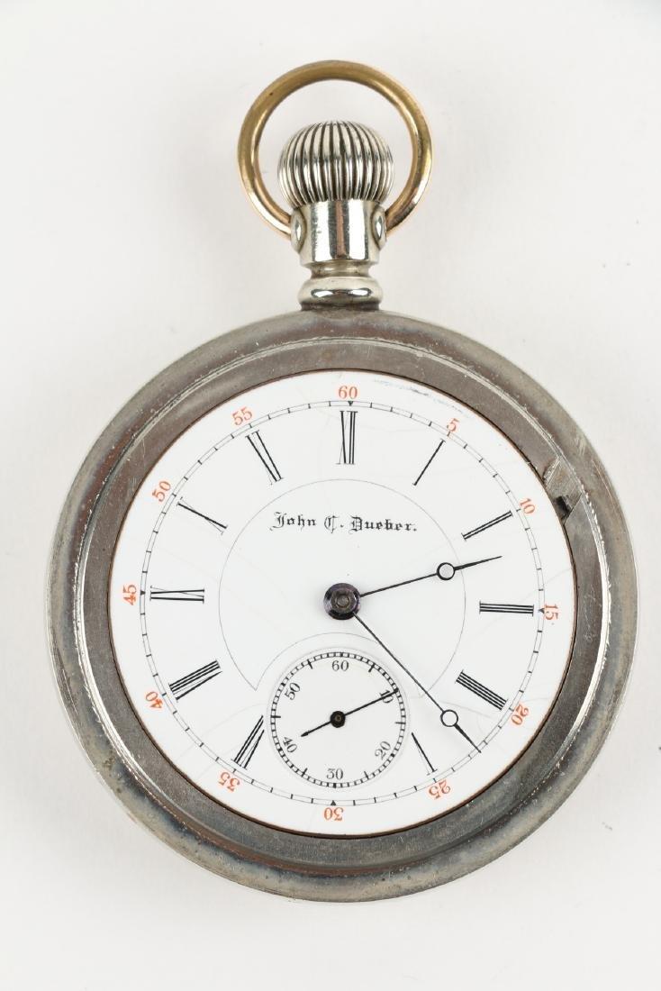"18S 15J Hampden ""John C. Dueber"" Pocket Watch - 5"