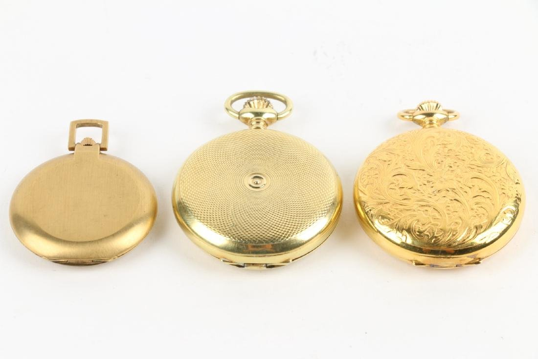 Three (3) Contemporary Hunting Case Pocket Watches - 2