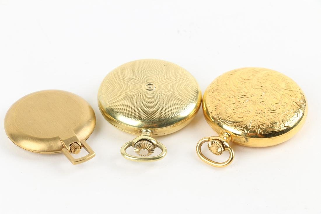 Three (3) Contemporary Hunting Case Pocket Watches - 3
