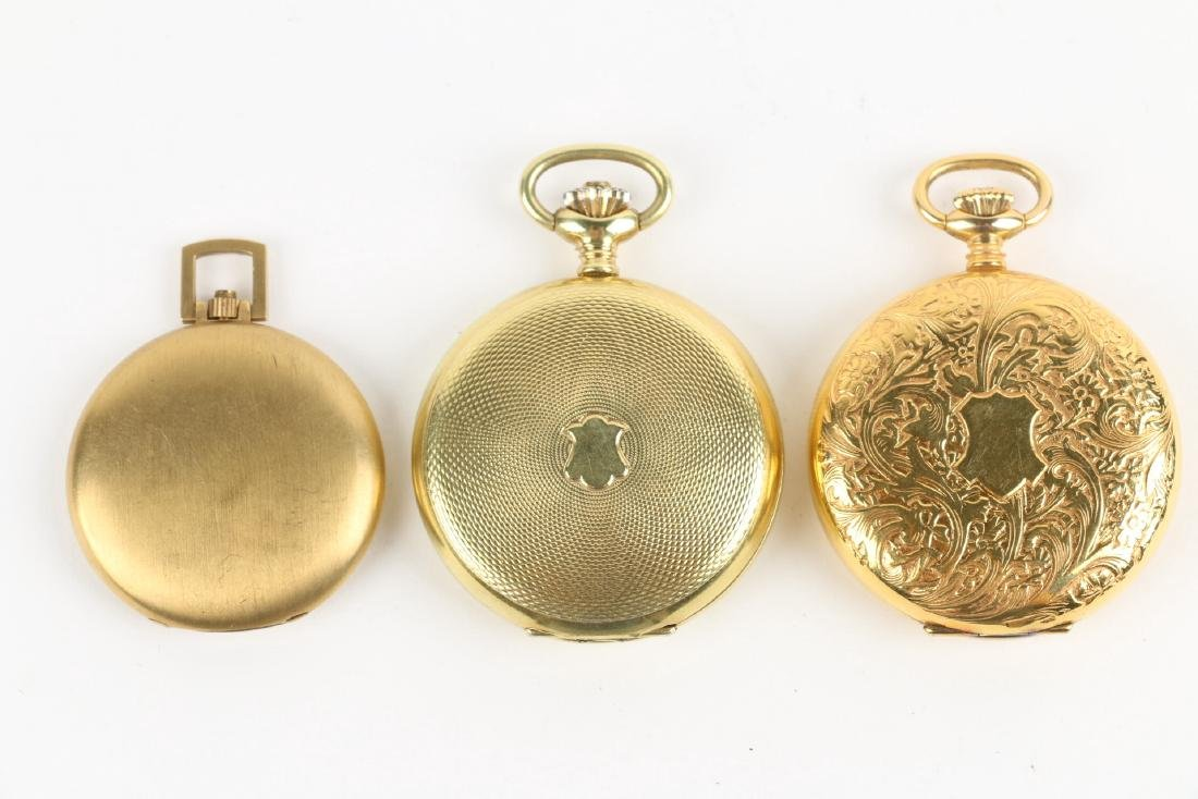 Three (3) Contemporary Hunting Case Pocket Watches - 4