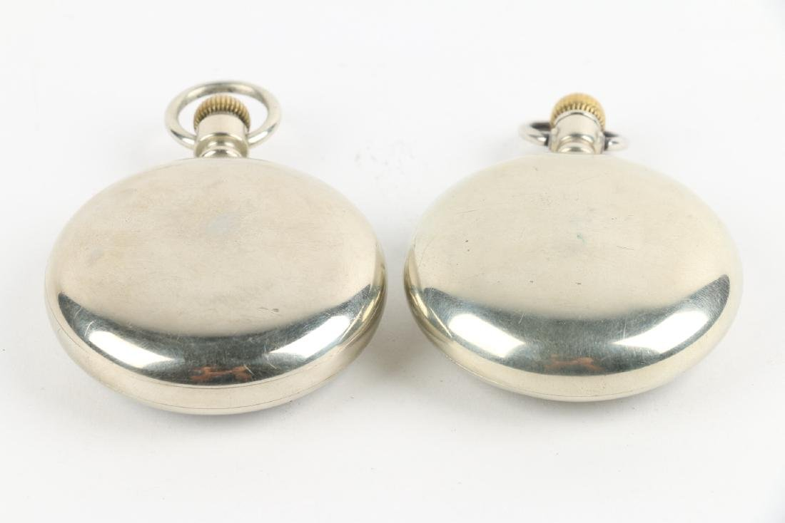 Two (2) 18S 1883 Model Waltham Pocket Watches - 2