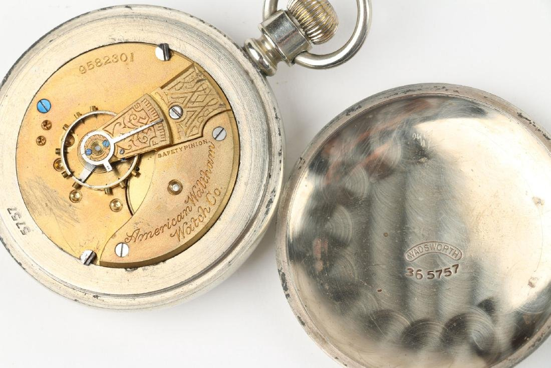 Two (2) Nickel 18S 1883 Model Waltham Pocket Watches - 8