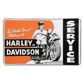 REPRODUCTION Harley Davidson Service Motorcycle Sign