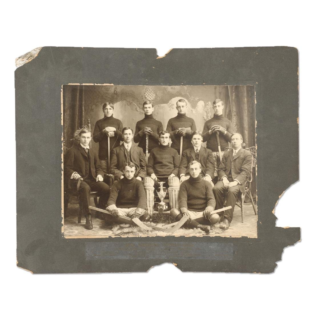 Photographs, New Hamburg Hockey Club, Band