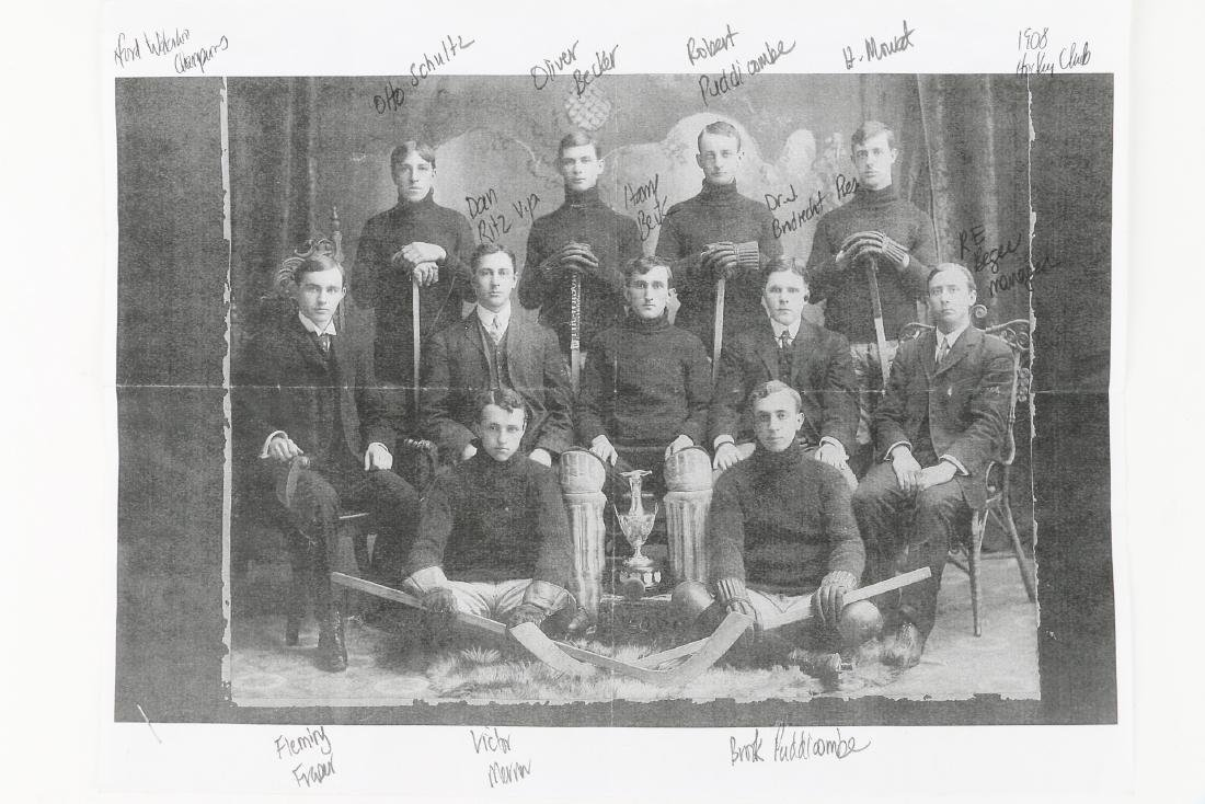 Photographs, New Hamburg Hockey Club, Band - 3