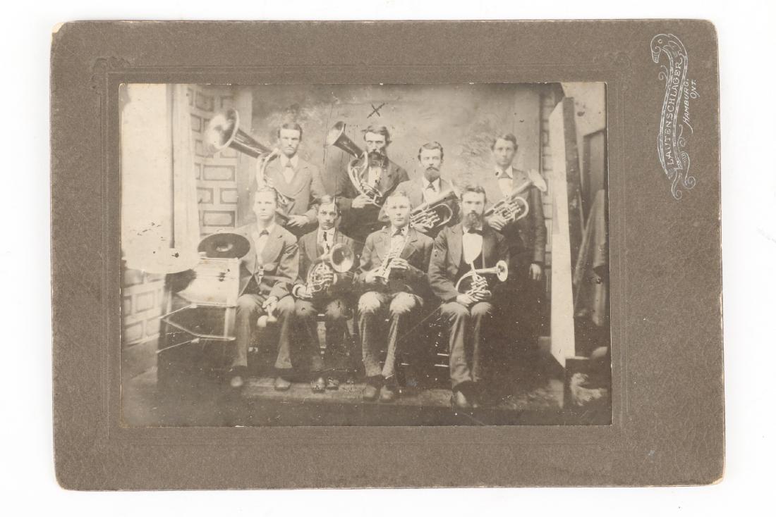 Photographs, New Hamburg Hockey Club, Band - 4