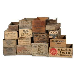 Wooden Advertising Crates