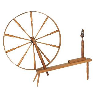 Impressive Walking Spinning Wheel