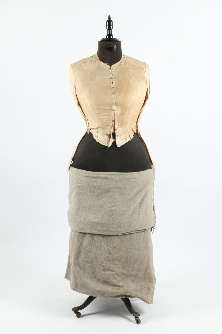 """Clawfoot Victorian """"Judy"""" Dress Form - 10"""