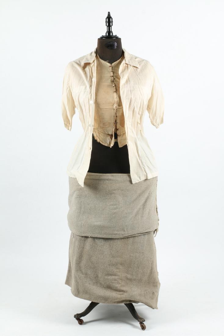 """Clawfoot Victorian """"Judy"""" Dress Form - 9"""