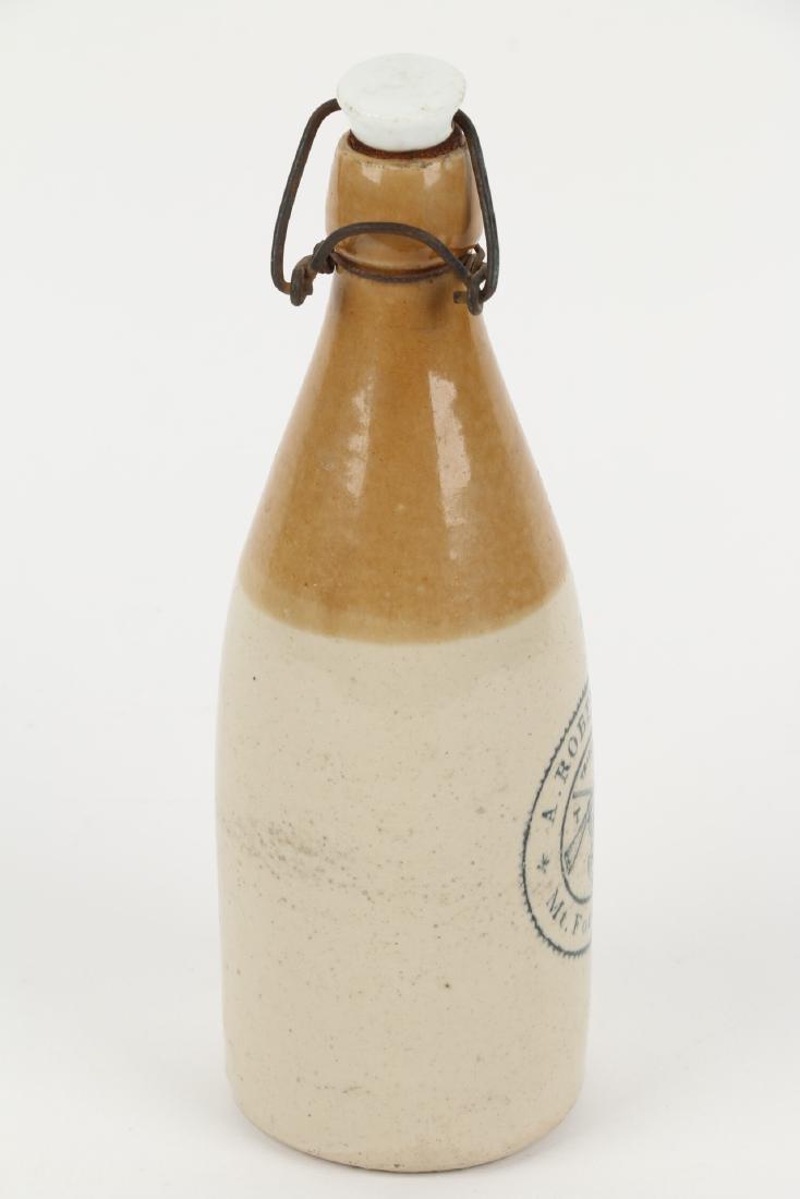 A. Robertson Ginger Beer Bottle, Mt. Forest - 8