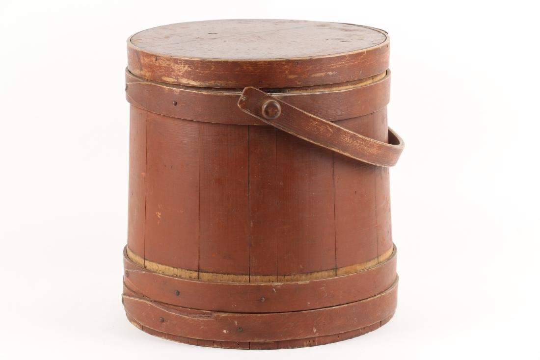 Painted 3-Band Firkin - 4