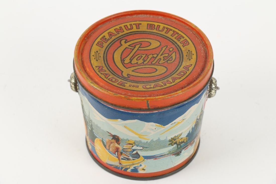 Clark's Peanut Butter Tin litho Montreal - 2