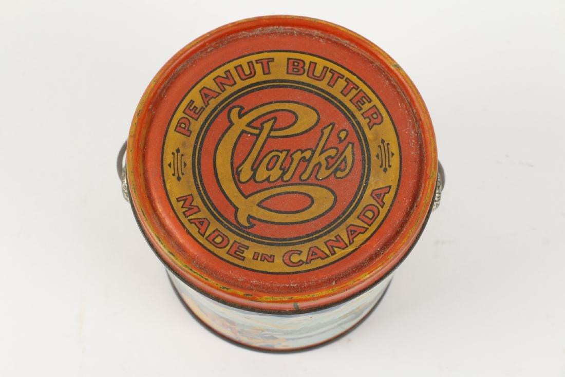 Clark's Peanut Butter Tin litho Montreal - 3